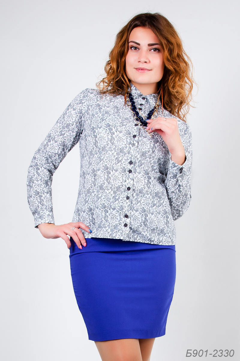 Блузка Из Поплина В Омске